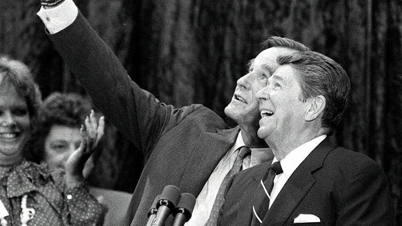 Ronald Reagan i George H. W. Bush
