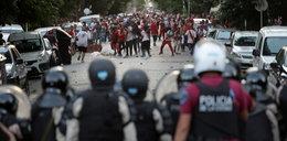 Na stadionie polała się krew. Skandal w Ameryce Południowej