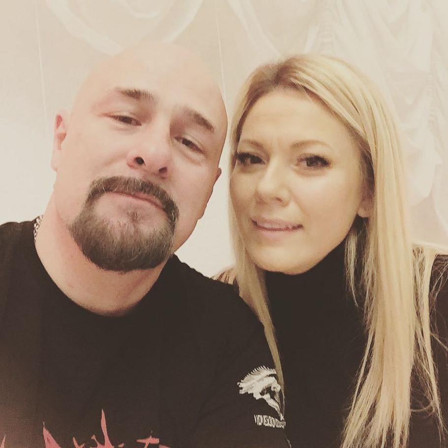 Dalibor Andonov Gru sa suprugom Danicom