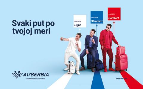 Miloš Biković zaštitno lice nove kampanje Er Srbija!
