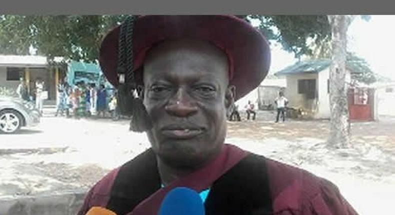 Chief of Great Ametafor in the Shai Osudoku Traditional Area, Nene Ogah Osuagbo I