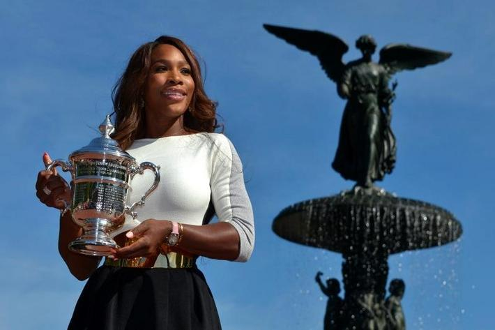 USA NEW YORK SERENA WILLIAMS