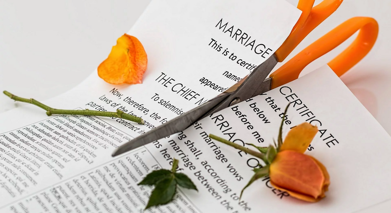 Here is how divorce can affect children negatively