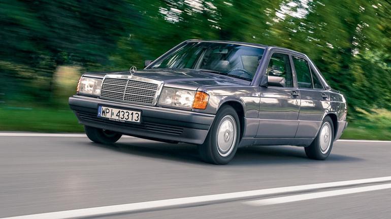 Mercedes 190D 2.5 - wierny kumpel na lata