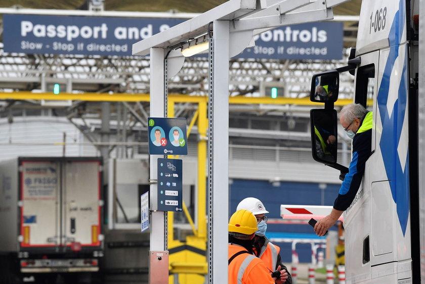 Od wczoraj na granicy z Wielką Brytanią są już korki