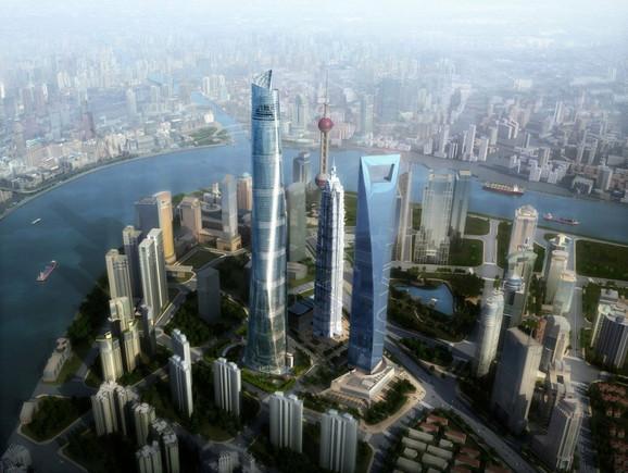 Kad bude izgrađen, ovako će izgledati: Kula šangajskog tornja