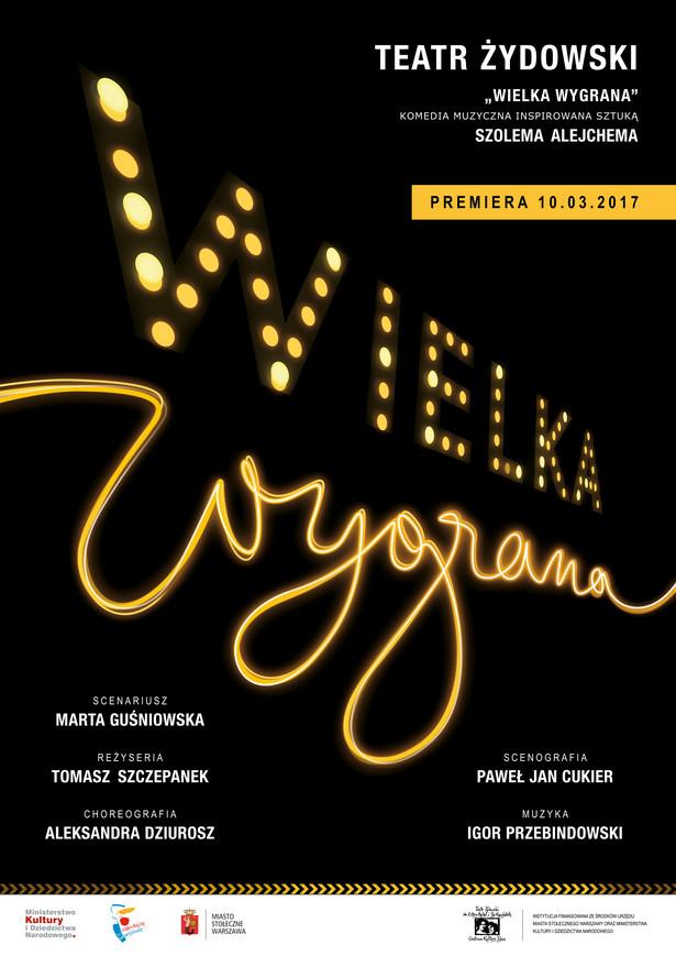 """""""Wielka Wygrana"""" Teatr Żydowski"""
