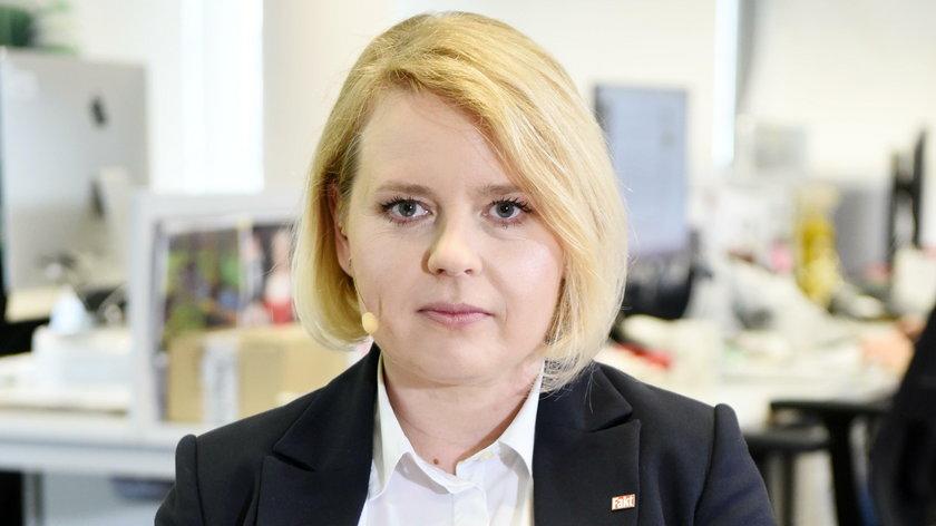 Justyna Węcek dziennikarka Faktu