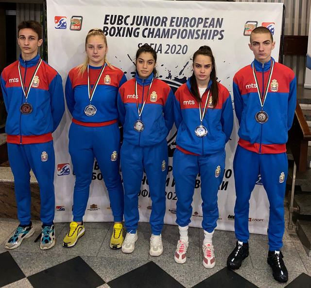 Osvajači medalja za Srbiju na EP u Sofiji