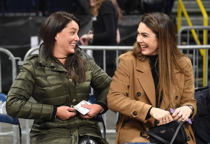 Ovako se navija za Partizan: Marija Kilibarda i Milica Mandić