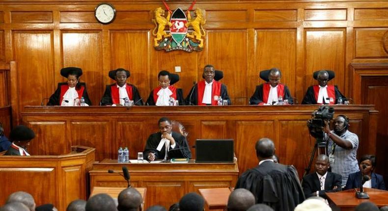 File image of Supreme court judges