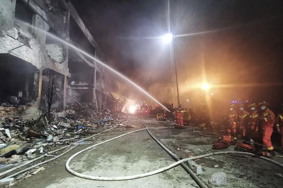Eksplozija cisterne u Kini