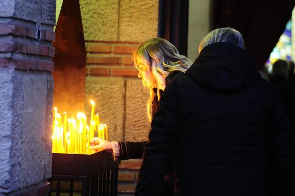 Neda Arnerić - kremacija