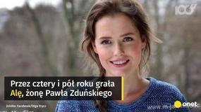 """Olga Frycz żegna się z """"M jak miłość"""""""