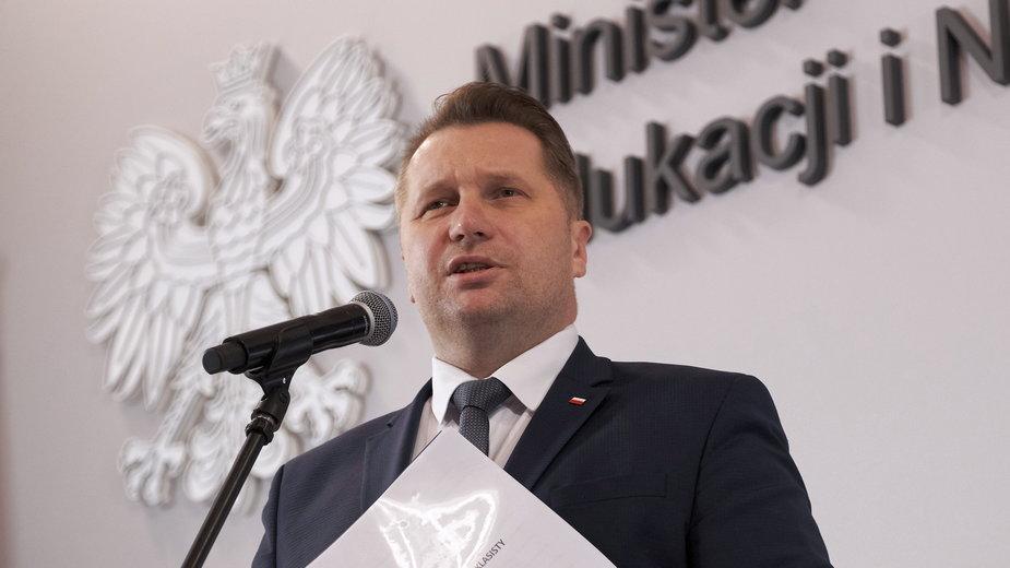 Przemysław Czarnek, minister edukacji i nauki