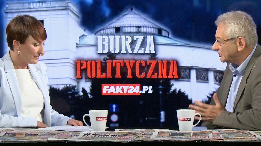 Burza polityczna. Ludwik Dorn