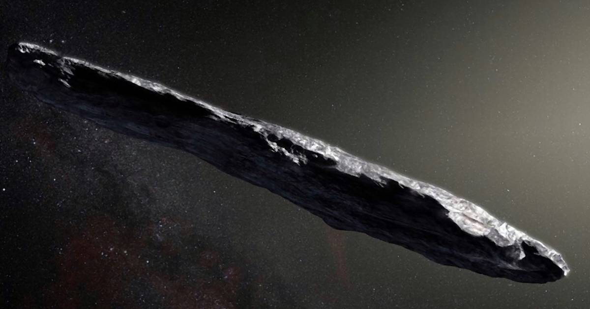 Dieser Riesen-Joint könnte ein außerirdisches Raumschiff sein