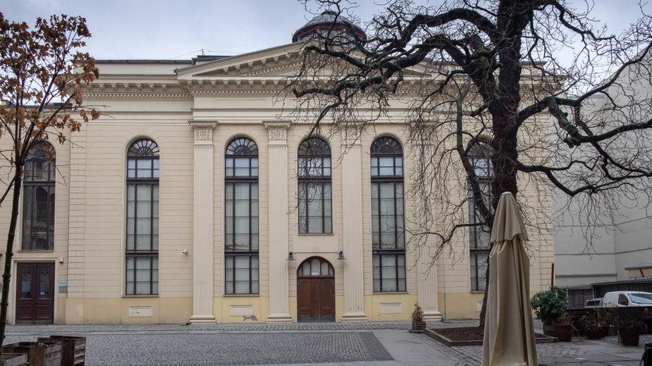 Synagoga Pod Białym Bocianem przy ul. Pawła Włodkowica 7