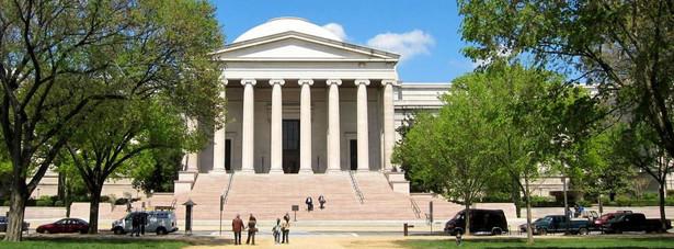 Miejsce 6. Narodowa Galeria Sztuki w Waszyngtonie - 4,4 mln odwiedzających