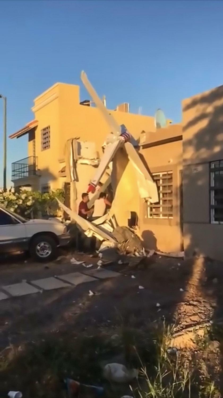 Katastrofa w Meksyku. Awionetka spadła na dom. Zginęły 4 osoby