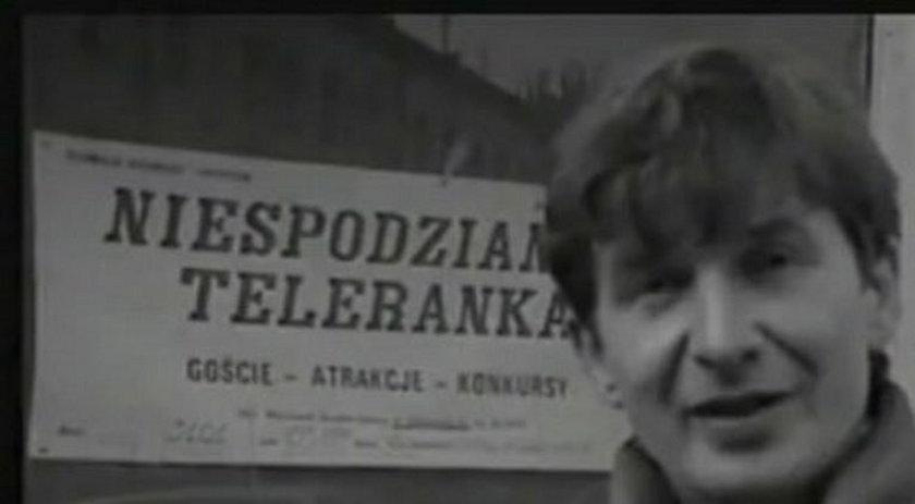 Tadeusz Broś z Teleranka