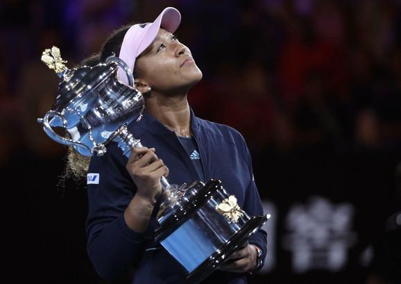 Naomi Osaka je na Australijan openu osvojila drugi grend slem trofej