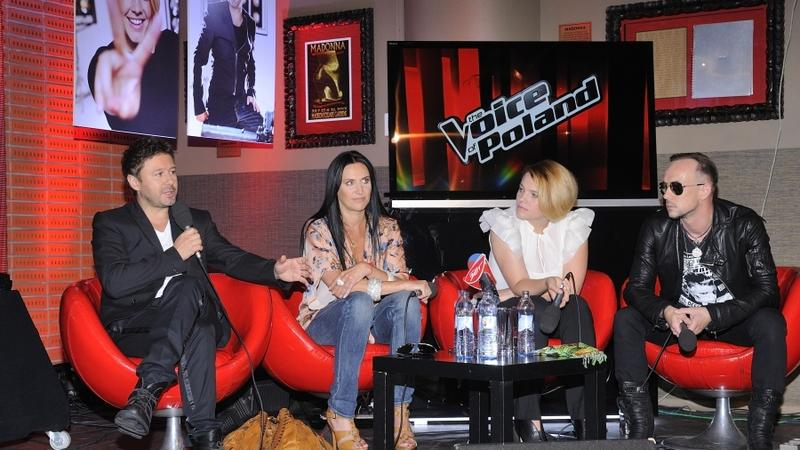 "Jury ""The Voice of Poland"" (fot. mwmedia)"