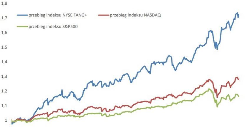 Spółki technologiczne w USA są obecnie liderem hossy, jej przewodnikiem i strażnikiem.