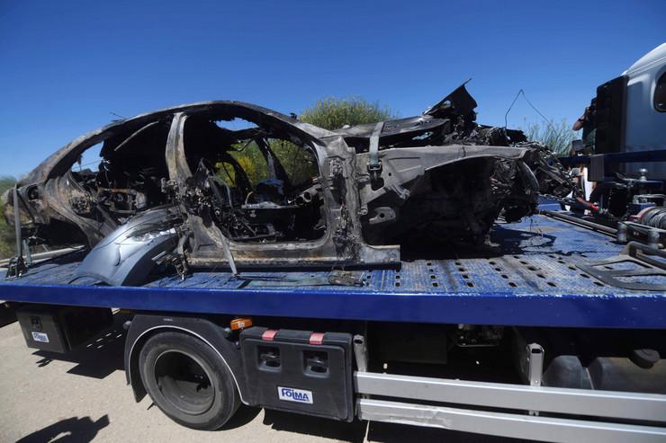 Hose Antonio Rejes, nesreća