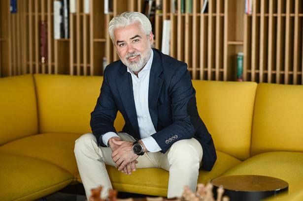 Gheorghe Marian Cristescu, prezes Polskiego Holdingu Hotelowego fot. Monika Kujawska/Materiały prasowe