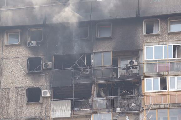 Požar na Novom Beogadu