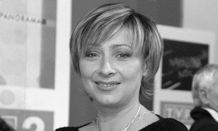 Nie żyje znana prezenterka TVP Agnieszka Dymecka