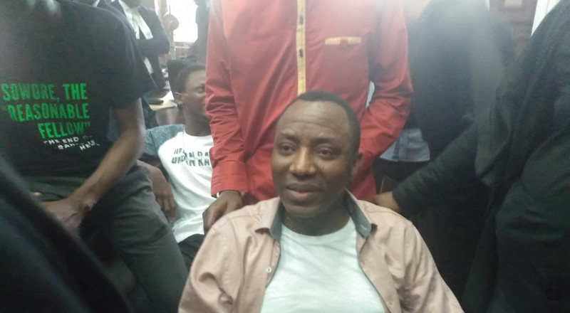 US reacts to Sowore's re-arrest by DSS