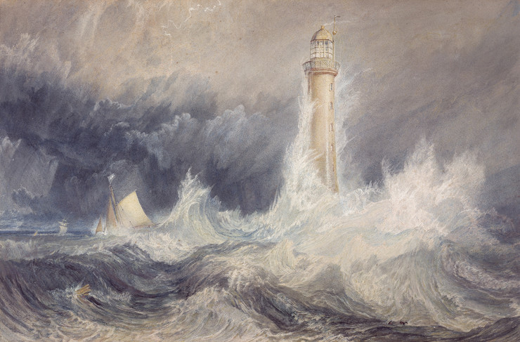 vilijam tarner bell-rock-lighthouse-1819 skotska