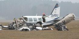 Katastrofa lotnicza w Zielonej Górze. Nie żyje pilot