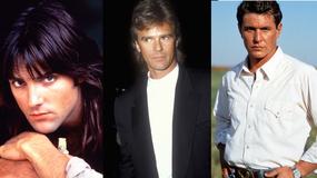Przystojni twardziele z lat 80. wczoraj i dziś