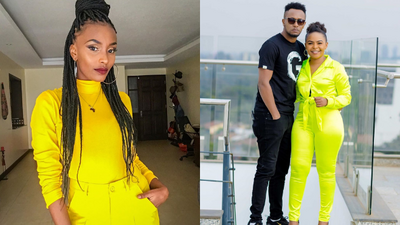 Switch TV Presenter laughs off allegations of dating DJ MO (Screenshot)