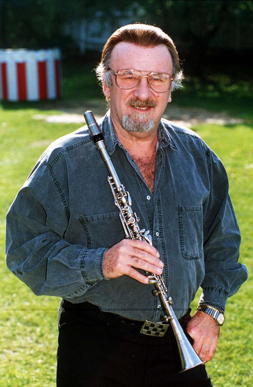 Acker Bilk w Londynie w 1996 roku