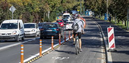 Przy Błoniach powstała nowa ścieżka dla pieszych i rowerzystów