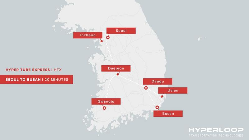 Korea Południowa też chce mieć Hyperloop