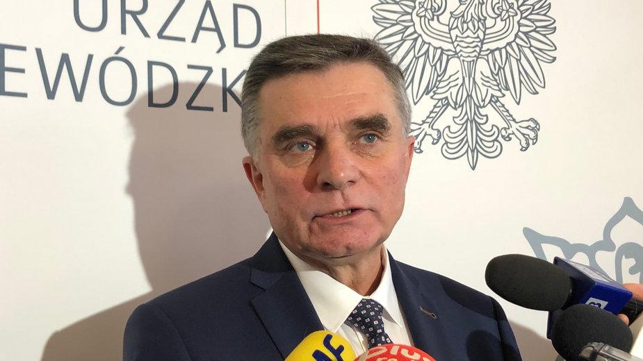 Lech Sprawka, wojewoda lubelski