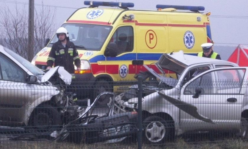 Wypadek pod Opolem