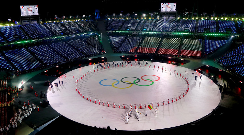 epa06508402 - SOUTH KOREA PYEONGCHANG 2018 OLYMPIC GAMES (Opening Ceremony - PyeongChang 2018 Olympic Games)