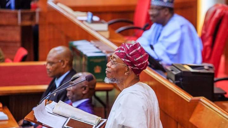 Aregbesola is Nigeria's Interior Minister (NASS media)