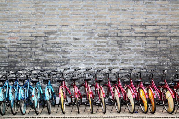 Rowery, Pekin
