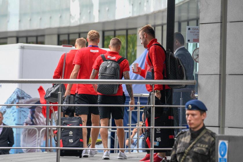 Mundial 2018 w Rosji: reprezentacja Polski - wylot na mecz z Kolumbią