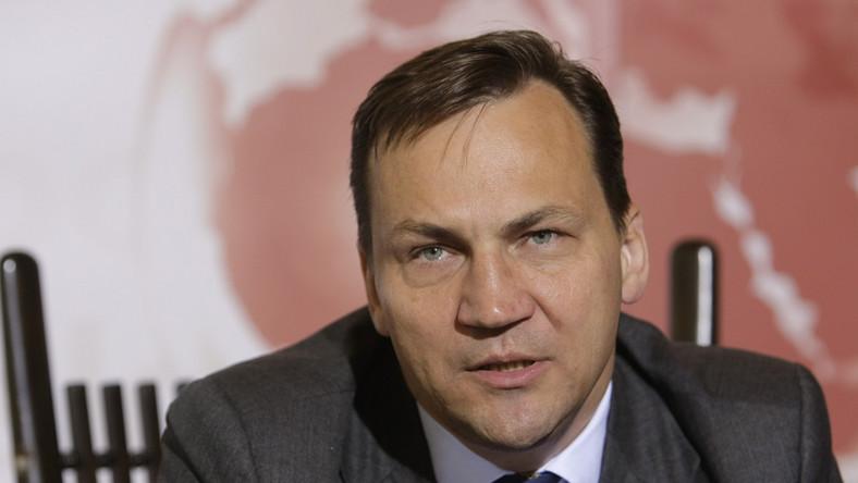 Sikorski: Nie skąpiliśmy na bezpieczeństwo prezydenta