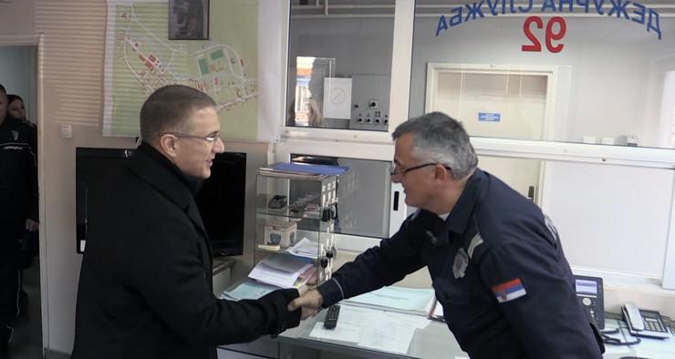 Nebojša Stefanović, Tanjug, MUP