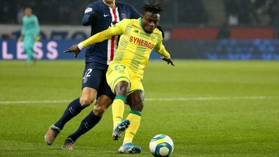 Moses Simon: How Nantes attacker's creativity continued against Angers