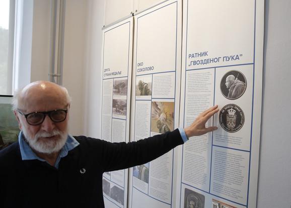 Vladimir Čeh, autor izložbe
